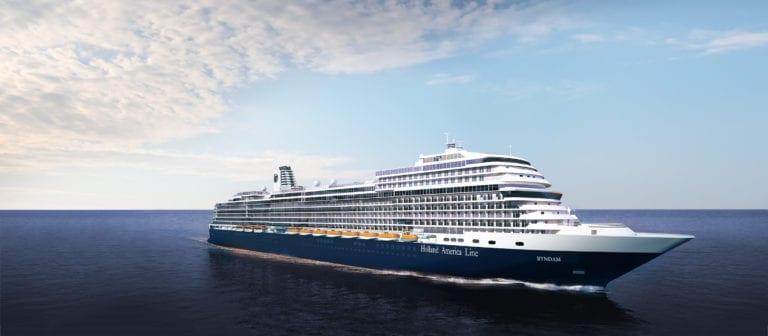 Navire Ryndam change de nom pour Rotterdam