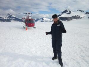 Excursion sur un glacier