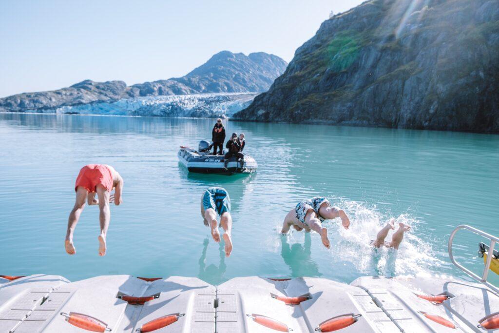Plongeon-polaire-Glacier-Bay
