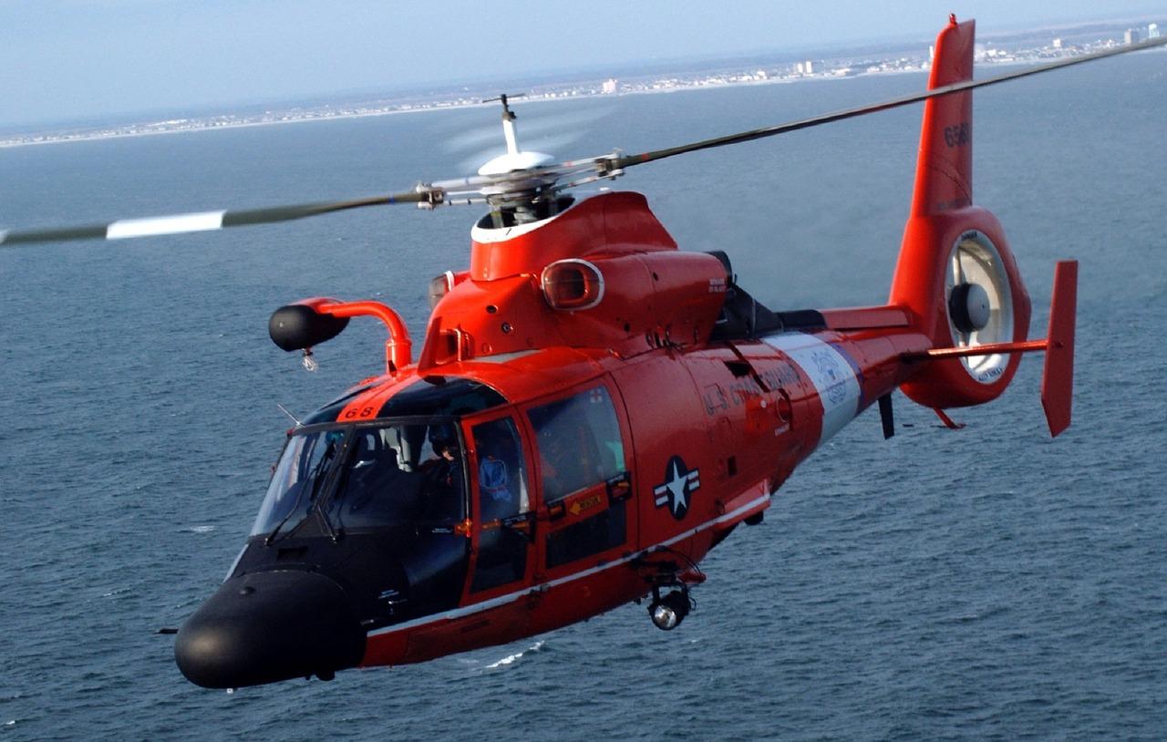 hélicoptère évacuation